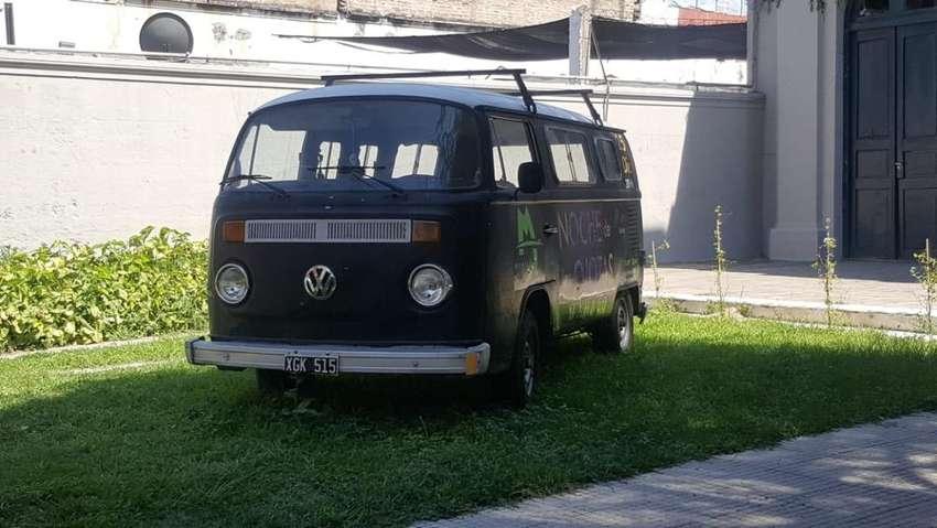 Kombi VW con Gnc y papeles 0