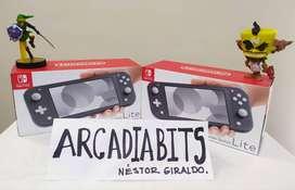Nintendo Switch Lite Gris Nueva y sellada - Gtia 8 meses