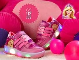 Zapato Tennis Deportivo Luces Para Niños