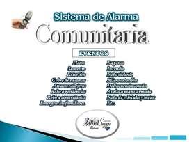 SISTEMA DE ALARMA COMUNITARIA ZONA SEGURA GSM