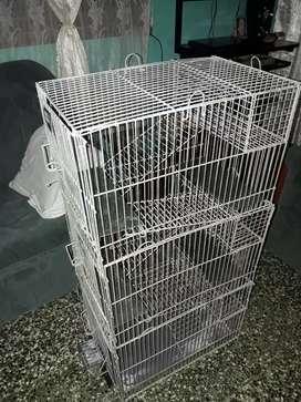 jaula para chinchillas  y todo tipo de roedores