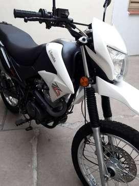 Vendo moto zr 150 enduro