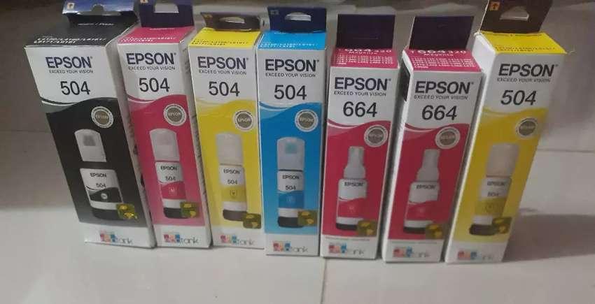 Tintas Epson 504/544/664 0