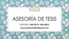TESIS ASESORÍA