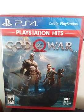 God of war, Nuevo & Sellado PS4