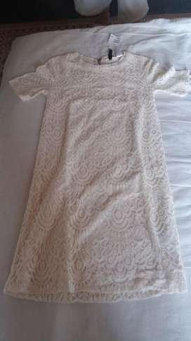 vestido para niña talla 6 h&M