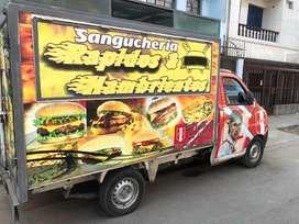Camion Sanguchero Listo para trabajar, Todo en regla,timón hidráulico