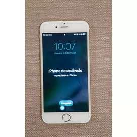 Vendo iPhone 6 s Repuesto impecable