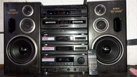 Equipo de música AIWA Z-D959M