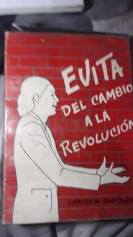 EVITA DEL CAMBIO A LA REVOLUCION (usado )