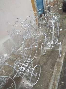 Bicicletas y triciclos decorativos grande medianos y de mesa