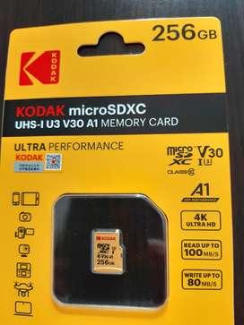 Memoria Micro SD 256 GB kodak