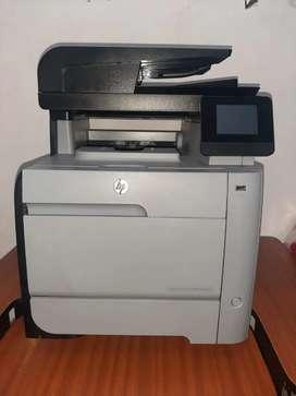 Impresora color láser Jet Pro MFP M476nw