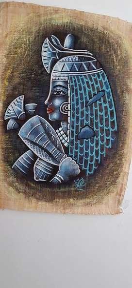 Papiro de Pliego Original de 100 Cms X 7