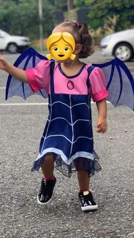 Disfraz VAMPIRINA NIÑA 2T