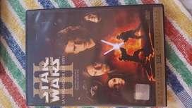 Star Wars Episodio 3 La Venganza de los Sith Original!!! Dvd doble
