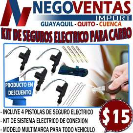 KIT DE SEGUROS ELECTRICOS PARA CARRO