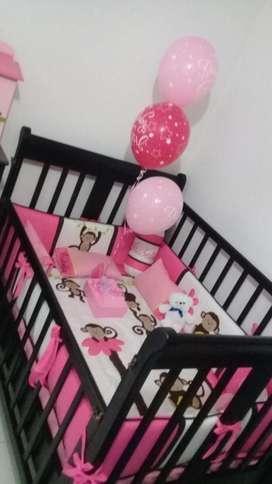 Cuna Bebé Cedro