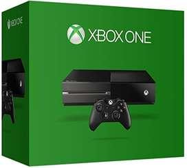 Vendo Consola Xbox one con 2 joystick