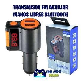 Transmisor FM manos libres cargador USB MP3 LCD Para auto