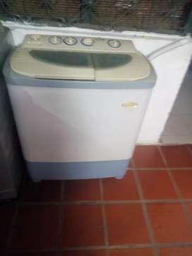 Lavadora doble tinas
