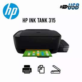 Impresora multifuncion HP Ink Tank 315 precio $130.00