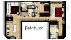 Imagínate viviendo aquí. Apartamento 2Hab*2.5Bñ*2Pq en Camino de Alcalá, Bogotá