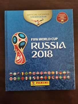 Álbum Mundia de Fútbol Rusia 2018
