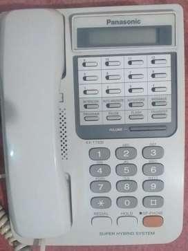 Teléfono Panasonic Kx-t7330 Sistema Híbrido Para 6 Lineas