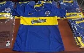 Camiseta Retro Boca titular y alternativa