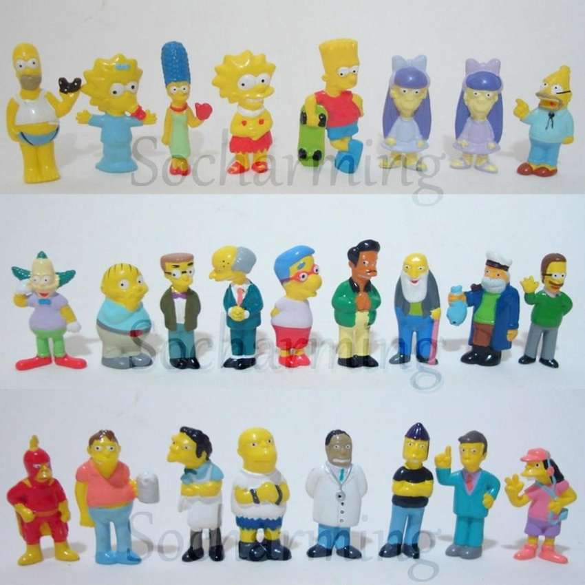 Simpsons 2004 Coleccion Completa Chocolate Jack 0