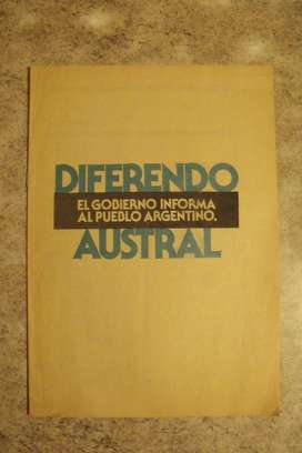 Folleto Diferendo Austral Secretaria Informacion Publica