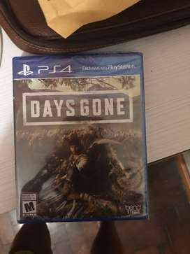 Days gone ps4 en caja sellada