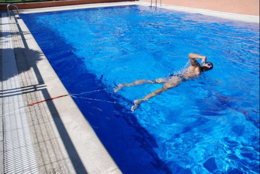 Nadador Fijo ! Para Nadar Sin Parar En El Mismo Lugar 0