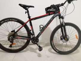 Bicicleta Optimus Sirius 27,5  Shimano Biplato Deore 20 Vel