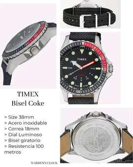 Reloj Timex Coca Cola 100 metros