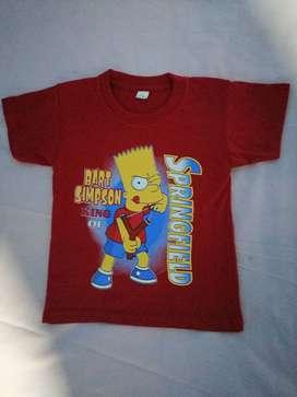 Camisetas para niño y niña.