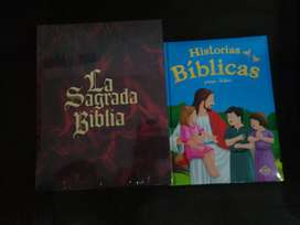 Biblia de niños y de adultos