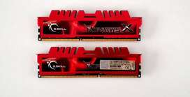 Memoria G.Skill RipJaws 4GB DDR3 1600Mhz Tope de linea. HardKonnen