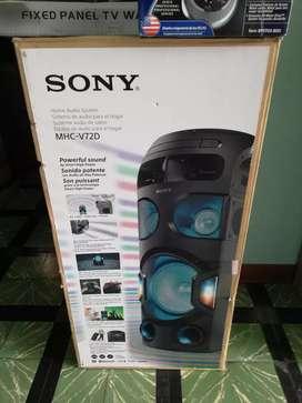 Equipo sonido Sony MHC-V72 1500 W nuevo sellado