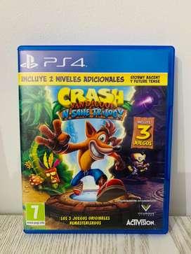 Crash Bandicooot N-Sane Trilogy PS4