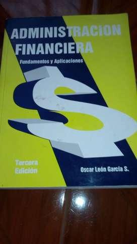 Libro sobre Administración Financiera