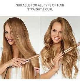 Plancha de cabello 2 en 1