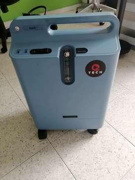 Alquiler o venta de generadores de oxígeno medicinal de 0 a 5 litros