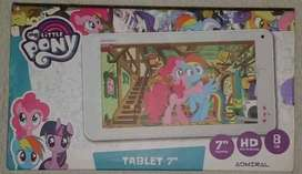 "Tablet infantil 7 "" Litlle Pony"