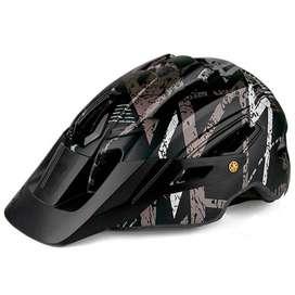 Casco Para Ciclismo, Bicicleta Mtb, Batfox, Original