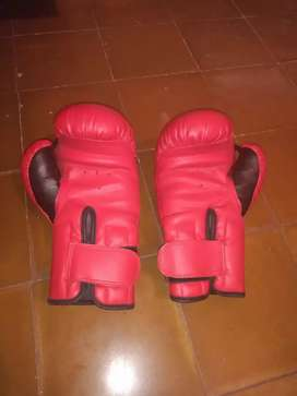 Guantes de boxeo sin uso