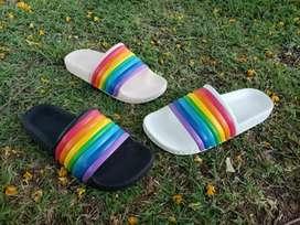 ojotas arco iris