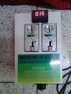 MONEDEROS PARA EL AIRE ADAPTABLE A CUALQUIER COMPRESOR