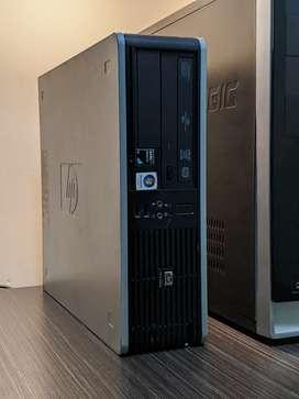 CPU / Torre / PC ( HP Coorporativo ) Dual core - 4 GB de Ram - Disco: 500 GB - Windows 10